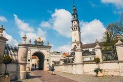 Jasna Gora sanctuary in Czestochowa, Poland Stock Images