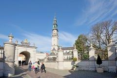 Czestochowa Polen Arkivfoto