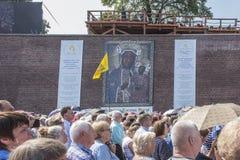 Czestochowa, Polen, 26 Augustus 2017: Jubileum 300 van verjaardag Royalty-vrije Stock Afbeelding