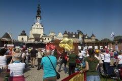 Czestochowa Polen, Maj 20, 2017: XXII polska rikstäckande Rehabi Royaltyfri Fotografi