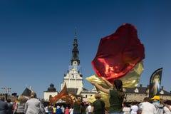 Czestochowa Polen, Maj 20, 2017: XXII polska rikstäckande Rehabi Arkivbilder
