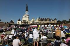 Czestochowa Polen, Maj 20, 2017: XXII polska rikstäckande Rehabi Royaltyfria Foton