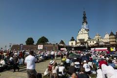 Czestochowa Polen, Maj 20, 2017: XXII polska rikstäckande Rehabi Royaltyfria Bilder