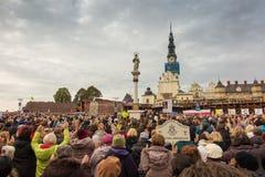 Czestochowa, Polen - 15. Oktober 2016: Vereinigte Buße, GesamtdA Stockfotografie