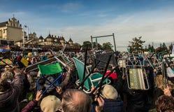 Czestochowa, Polen - 15. Oktober 2016: Vereinigte Buße, GesamtdA Lizenzfreie Stockfotos