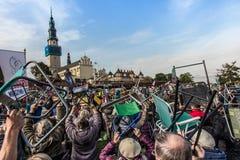 Czestochowa, Polen - 15. Oktober 2016: Vereinigte Buße, GesamtdA Stockbilder