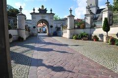 Czestochowa, Polonia, junio de 2018 Santuario de Jasna Gora, monasterio en Czestochowa, imagen de archivo