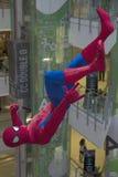 Czlowiek-pająk Zdjęcia Royalty Free