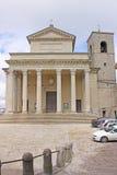 Czołowy widok bazylika Di San Marino Obrazy Stock