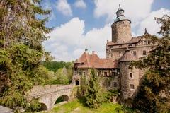 Czoch castle, Lesna, Poland Royalty Free Stock Image