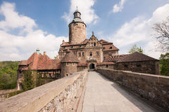 Czoch castle, Lesna, Poland Stock Photography