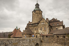 Czoch castle in Lesna - Poland. Stock Photos