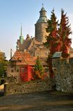 Czocha城堡,波兰 免版税库存图片