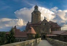 Czocha Castle, Σιλεσία, Πολωνία Στοκ Φωτογραφίες