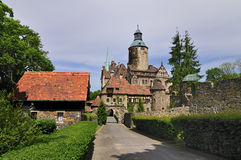 Czocha Castle. Is situated in Le�na by the Kwisa river in Poland Royalty Free Stock Photos