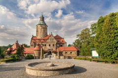 Czocha castle in Poland Royalty Free Stock Photos
