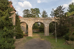 Czocha castle in Poland Stock Photo