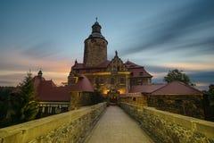 Czocha kasztel, Silesia, Polska Fotografia Royalty Free