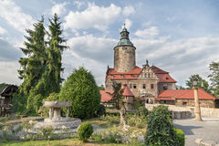 Czocha kasztel w Polska Zdjęcia Royalty Free