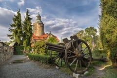 Czocha kasztel w Polska Zdjęcie Stock