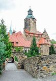 Czocha - medievale, castello difensivo fotografia stock