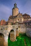 Czocha-Schloss, Polen Lizenzfreie Stockfotos