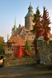 Czocha-Schloss, Polen Lizenzfreie Stockbilder