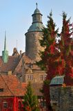 Czocha slott, Polen Arkivbilder