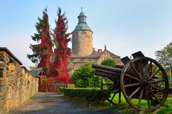Czocha slott, Polen Arkivfoto