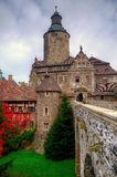 Czocha slott, Polen Arkivbild