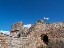 Czorsztyn castle, Poland Stock Photography