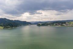 Czorsztyn reservoir Royalty Free Stock Images