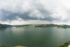 Czorsztyn reservoir Stock Image
