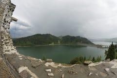 Czorsztyn reservoir Stock Photos