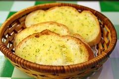 czosnek chlebowy Obraz Stock