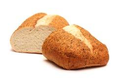 Czosnek i ziele rzemieślnik Biały chleb zdjęcia stock