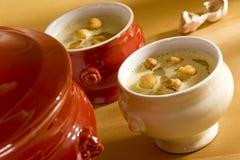 czosnek sup Fotografia Royalty Free