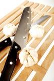 czosnków knifes dwa Obraz Stock