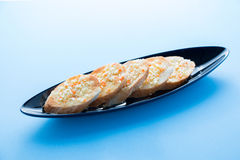 Czosnku chleb Obraz Stock