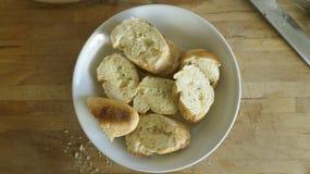 Czosnku chleb Obrazy Royalty Free