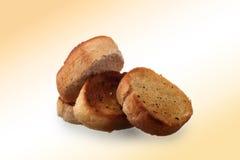 Czosnku chleb Zdjęcia Stock