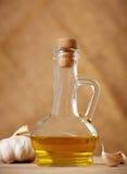 czosnku olej Zdjęcia Stock