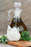 czosnku ziele nafciana oliwka Zdjęcie Royalty Free