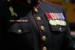 człowiek wojsko Fotografia Stock