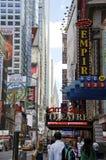 Czterdzieści drugi ulica zdjęcie royalty free