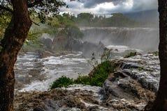 Czternaście spadków Thika Kenja Afryka Obrazy Royalty Free