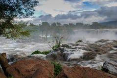 Czternaście spadków Thika Kenja Afryka Zdjęcia Stock