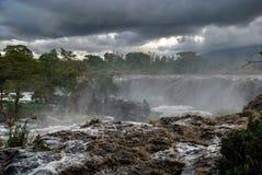 Czternaście spadków Thika Kenja Afryka zdjęcie stock
