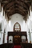 czternastego wieka kościół obraz royalty free