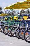 czteroosobowa rower fura fotografia stock
